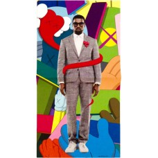 Kanye West X KAWS original poster