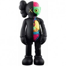 KAWS Companion Flayed Black