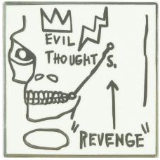 Jean-Michel-Basquiat Revenge Pin