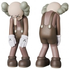 KAWS Small Lie - Brown