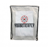 youbetterfly translucent Drawstring Bag