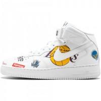 Nike Air Force Mid 1 X Supreme NBA