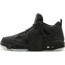 Air Jordan 4 KAWS - Black