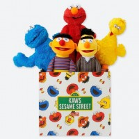 Kaws x Uniqlo x Sesame Street box