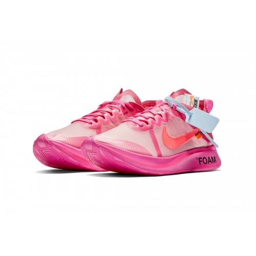 Nike Zoom Fly x Off-White pink