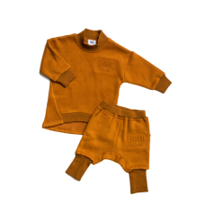 Desert Young Crew Neck Dark Camel