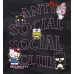 Hello Kitty friends x ASSC Black Camo Hoodie
