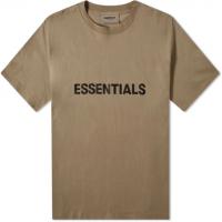 FOG x Essentials Applique Logo Taupe Tee
