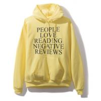 "Anti Social Social Club ""People Love Reading Negative Reviews"" Hoodie"