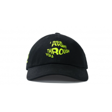 Anti Social Social Club Crystal Clear Cap Black