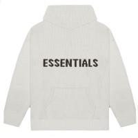 FOG Essentials Oatmeal KNIT Hoodie