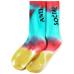 ASSC Broken Ankle Socks - Tie-Dye Logo