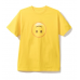 ASSC White Logo smile emoji HMU Yellow Tee