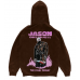 Warren Lotas Jason Goes To Hell Brown Hoodie