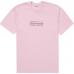 Supreme KAWS Chalk Logo Tee Light Pink