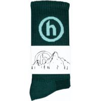 Hidden NY Crew Socks Aquamarine