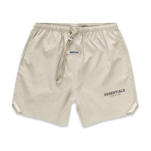 ESSENTIALS Nylon Active Olive Shorts