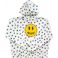 Drew House Mascot Deconstructed Hoodie Polka Dot