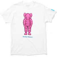 KAWS Brooklyn Museum WHAT PARTY T-Shirt White