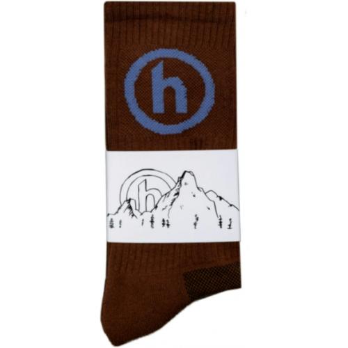 Hidden NY Crew Socks Brown
