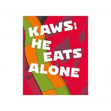 KAWS He Eats Alone Hardcover Book