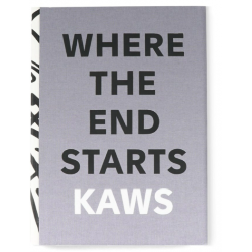 KAWS Where The End Starts Hardcover Book Grey