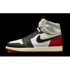 Air Jordan 1 Union White/Varsity - Red/Black