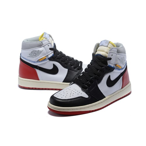 Air Jordan 1 Union White/Varsity - Red/Black