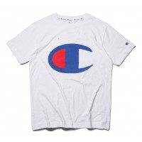 Champion Big Logo White