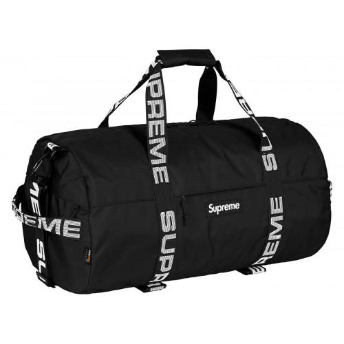 Supreme Duffle Bag Black