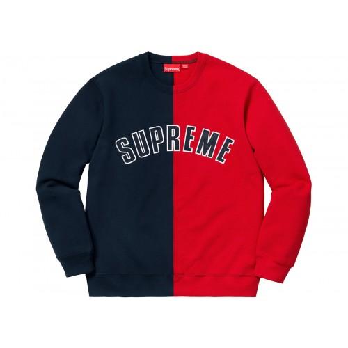 cd243bae Supreme Crewneck Sweat Shirt Navy Youbetterfly