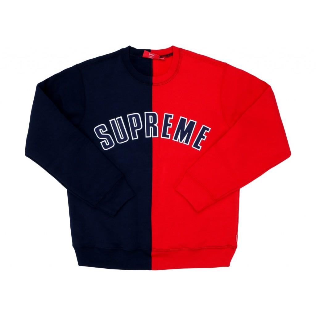 abbbd8af Supreme Crewneck Sweatshirt Navy Supreme Crewneck Sweatshirt Navy ...