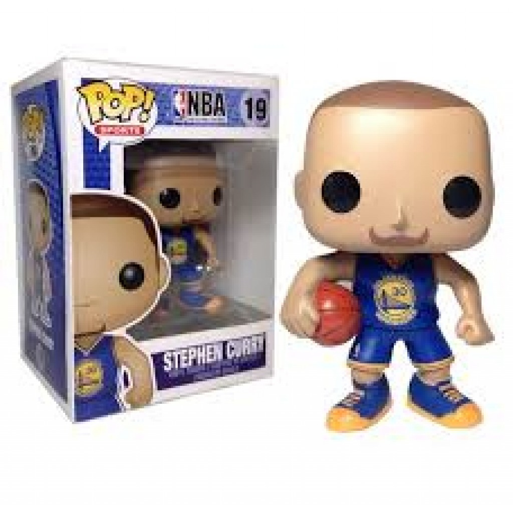 Stephen Curry Funko Pop By Youbetterfly
