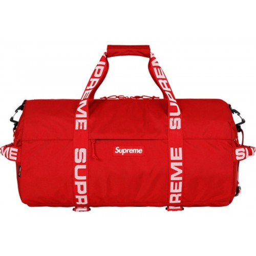 Supreme Duffle Bag Red