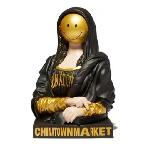 Chinatown Market x Mighty Jaxx Smiley Mona Lisa