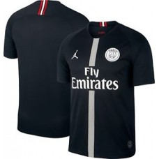 Air Jordan x PSG Football Jersey Black