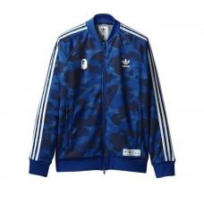 Bape x Adidas Track Jacket (Blue)