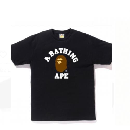 BAPE College T Black Ape Head