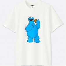 KAWS x Uniqlo Sesame Street Cookie Monster