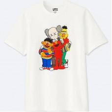 KAWS x Uniqlo Sesame Street All