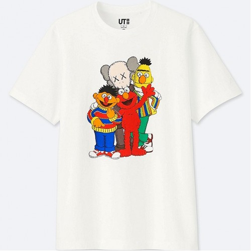 KAWS x Uniqlo Sesame Street All