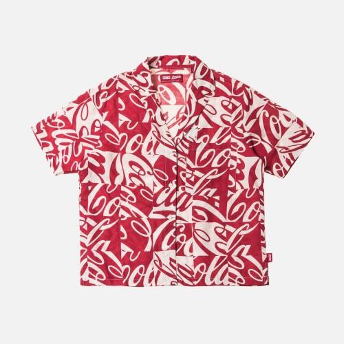KITH x Coca-Colar Checkered Carla shirt