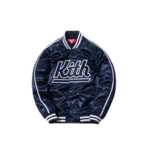 Kith x Mitchell and Ness Satin Warm-up Jacket