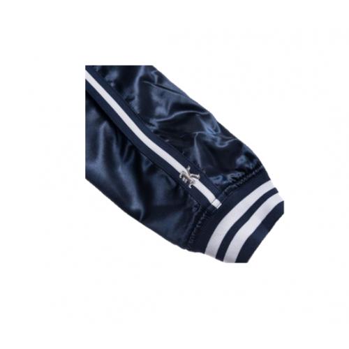 Kith x Mitchell and Ness Satin Warm-up Jacket