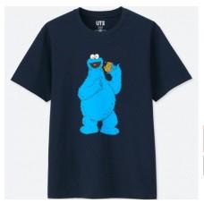 KAWS x Uniqlo Sesame Street Cookie Monster - Blue