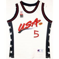 Grant Hill Vintage USA Jersey