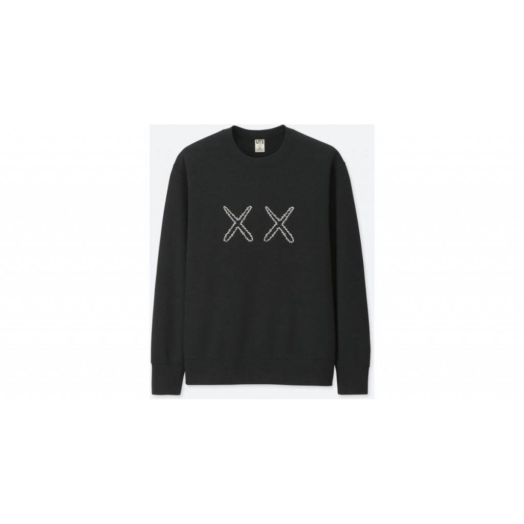 9dde152bf51 Uniqlo Kaws X Sesame Street Sweatshirt Black by Youbetterfly