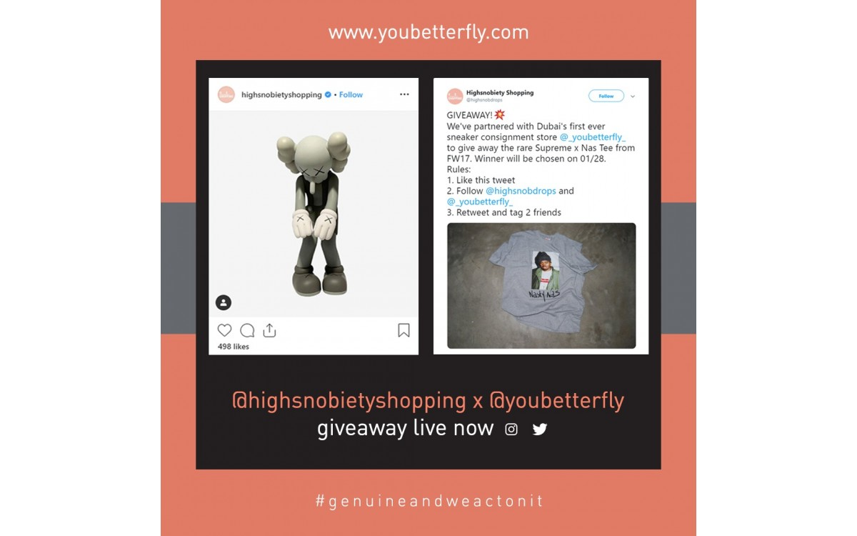 youbetterfly x highsnobiety giveaway
