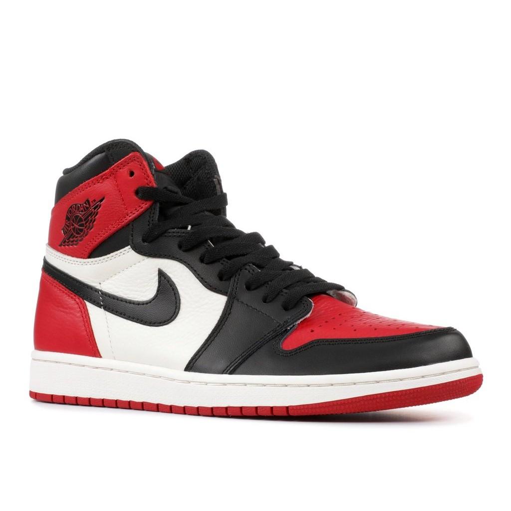 wholesale dealer 96f37 aeffa Air Jordan 1 Bred Toe Air Jordan 1 Bred Toe ...