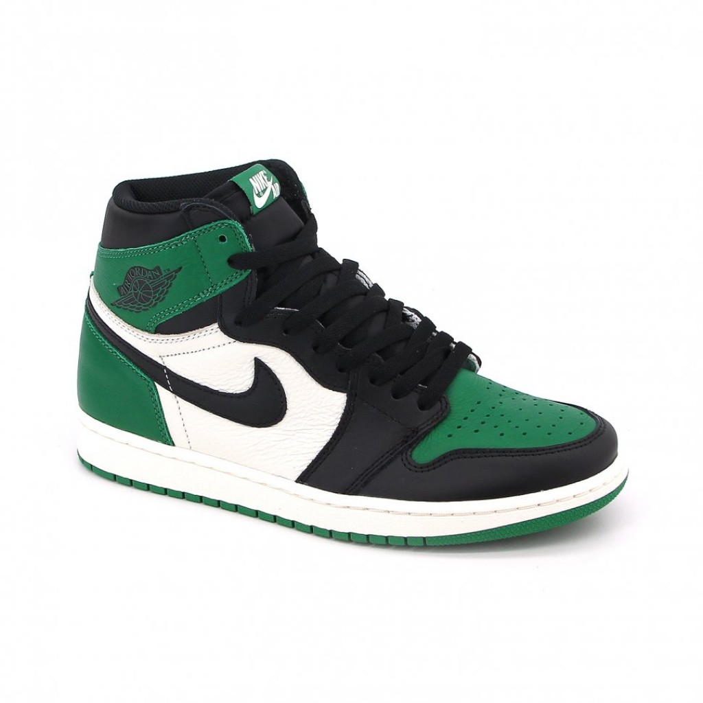 Air Jordan 1 Pine Green by youbetterfly